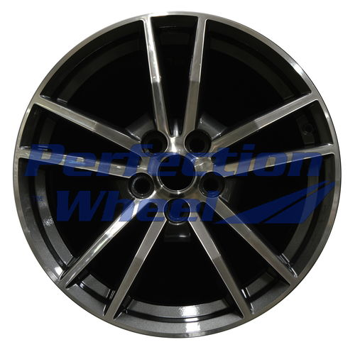 WAN.10030 18x8 Dark Charcoal Machined