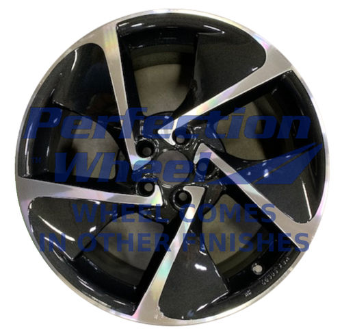 WAN.190236 19x8 Metallic Black BLACK BASE Machine PIB