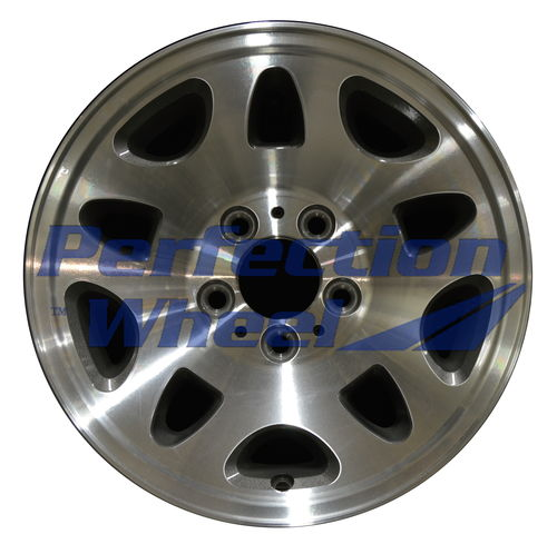 WAN.3815 15x7 Medium Metallic Charcoal Machined