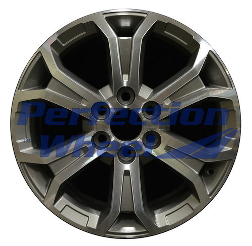 WAN.5573 19x7.5 Medium Metalic Charcoal Machined