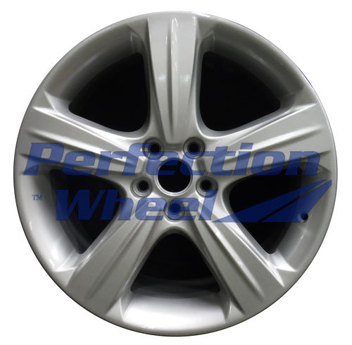WAO.10016 18x8 Bright Fine Metallic Silver Full Face