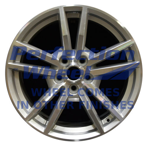 WAO.10030 18x8 Sparkle silver Machined