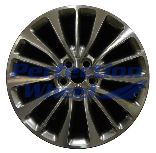 WAO.10072 18x8 Hyper Bright Smoked Silver Machined