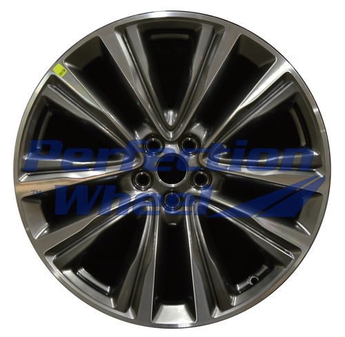 WAO.10074 20x8 Hyper Bright Smoked Silver Machined Bright