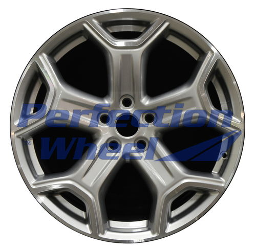WAO.10111 19x8 Hyper Medium Silver Machined Bright