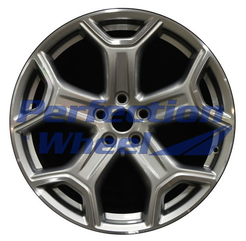 WAO.10111 19x8 Hyper Dark Silver Bright Machined Bright