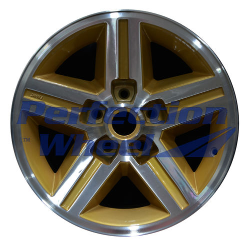 WAO.1454FT 16x8 Sparkle Gold Machined