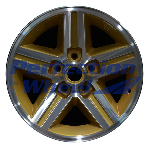 WAO.1455RE 16x8 Sparkle Gold Machined