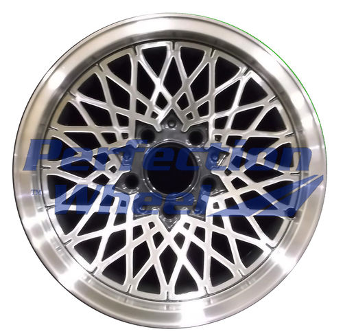 WAO.1457 15x7 Blueish metallic charcoal Machined