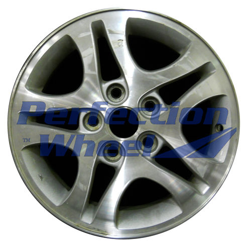 WAO.150001 15x6 Sparkle Silver Machined