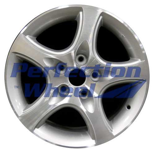WAO.160019 16x7 Sparkle Silver Machined