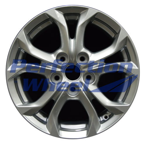 WAO.160080 16x6.5 Sparkle Blue Silver Full Face Paint inside barrell