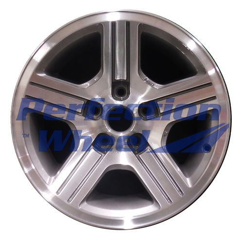 WAO.1609FT 16x8 Light Charcoal Machined