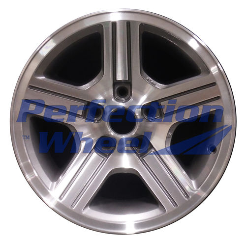 WAO.1610RE 16x8 Light Charcoal Machined