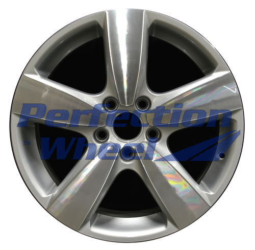 WAO.170006 17x7 Bright fine silver Machined