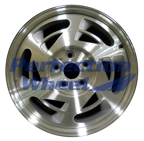 WAO.1737FT 17x9.5 Fine metallic silver Machined