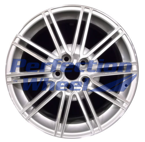 WAO.180086 18x7.5 Medium Sparkle Silver Machined