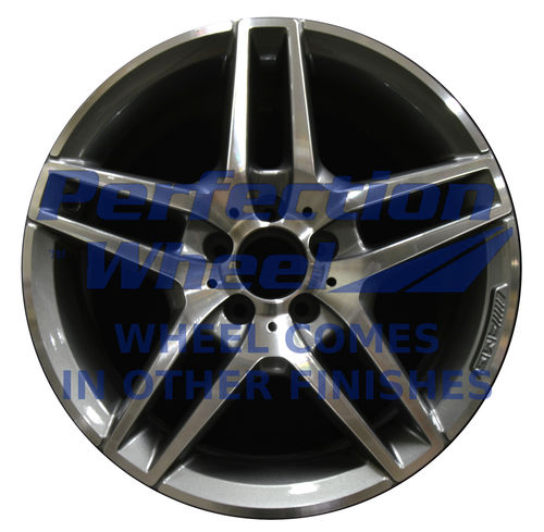 WAO.180211FT 18x8 Medium Charcoal Machined Bright Painted OD