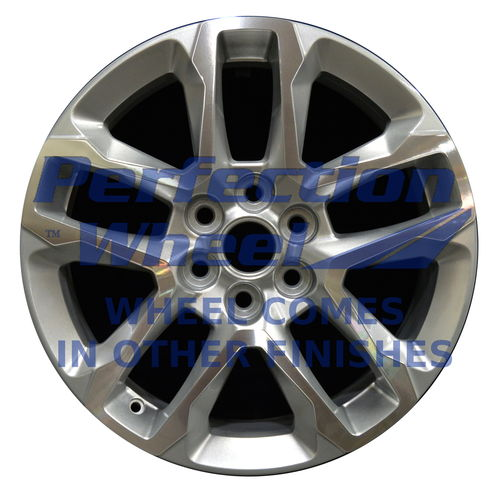 WAO.180286 18x7.5 Light Silver Machined Bright Painted OD