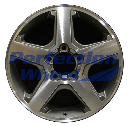 WAO.200028 20x8 Medium Metallic Charcoal Machined Bright