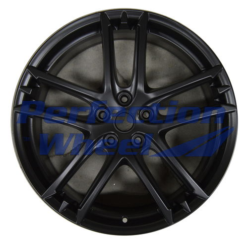 WAO.200101 20x8.5 Flat Matte Black Full Face