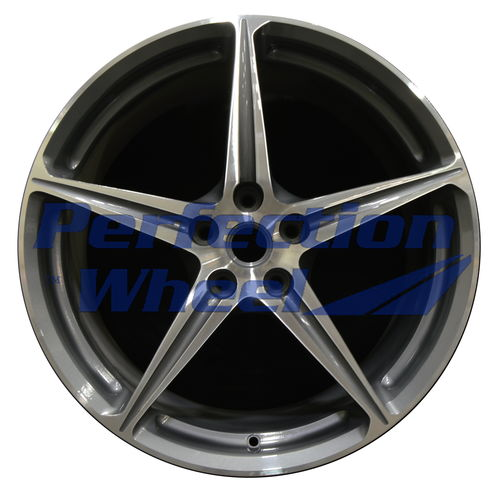 WAO.200127RE 20x10.5 Medium Metalic Charcoal Machined