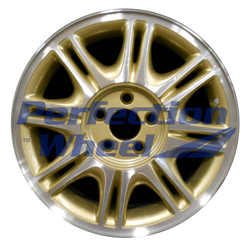 WAO.2057 15x6 Sparkle Gold Machined