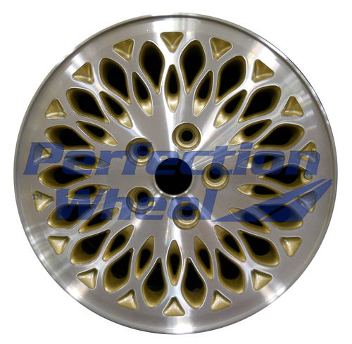 WAO.2074 16x6.5 Sparkle Gold Machined