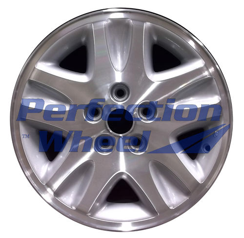 WAO.2076 16x6.5 Medium Sparkle Silver Machined