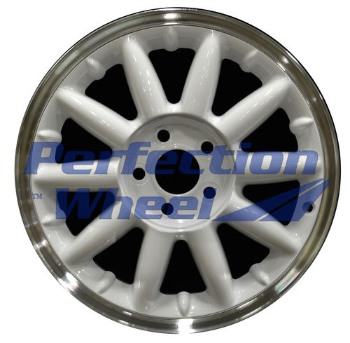 WAO.2084A 17x6.5 Bright White Flange Cut