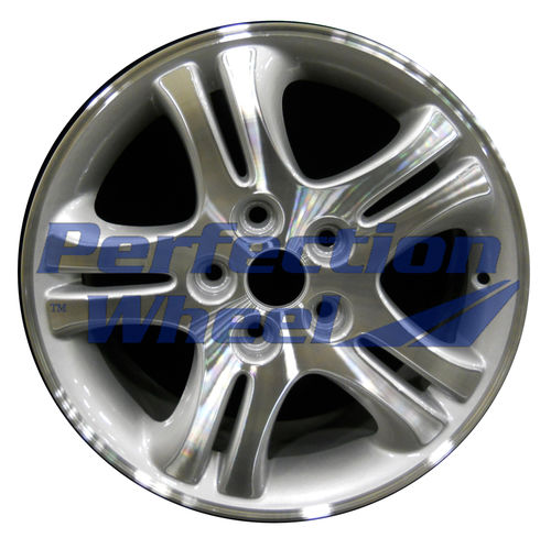 WAO.2093 16x7 Medium Sparkle Silver Machined