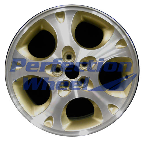 WAO.2099B 16x6.5 Sparkle Gold Machined