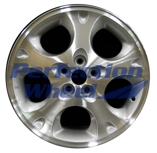 WAO.2099B 16x6.5 Sparkle Silver Machined