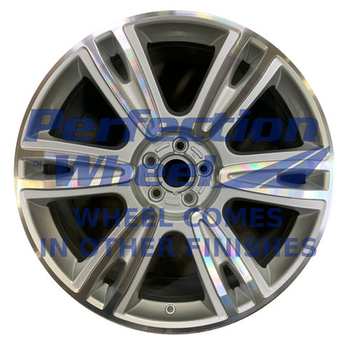 WAO.210017 21x9.5 Bright Fine Metallic Silver Machined Bright