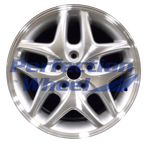 WAO.2100B 16x6.5 Medium Sparkle Silver Machined