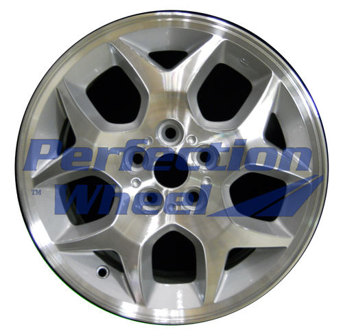 WAO.2129 15x6 Medium Sparkle Silver Machined