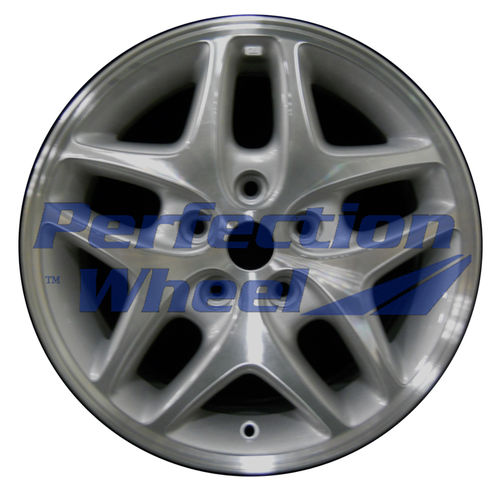 WAO.2135A 16x7 Medium Sparkle Silver Machined