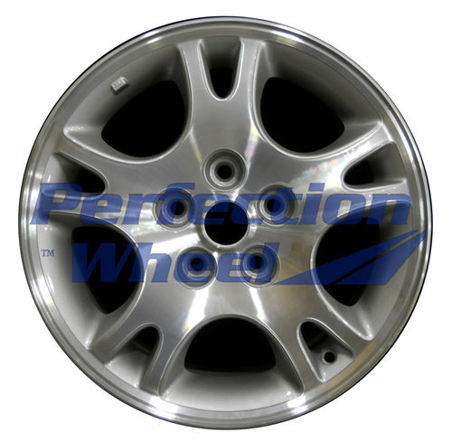 WAO.2155 16x6.5 Medium Sparkle Silver Machined