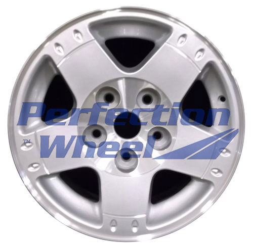 WAO.2164A 17x8 Bright Sparkle Silver Machined