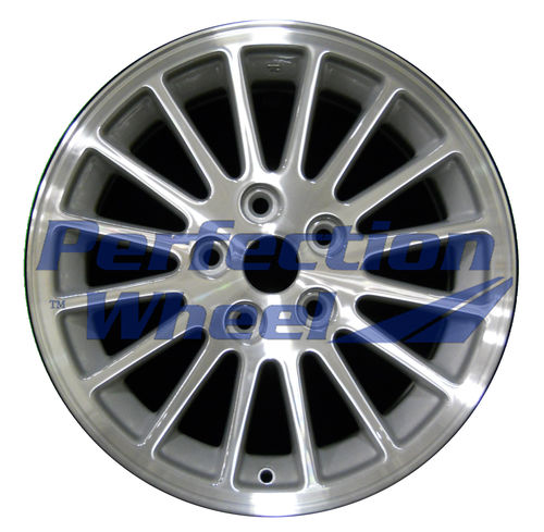 WAO.2170 16x7 Sparkle Silver Machined
