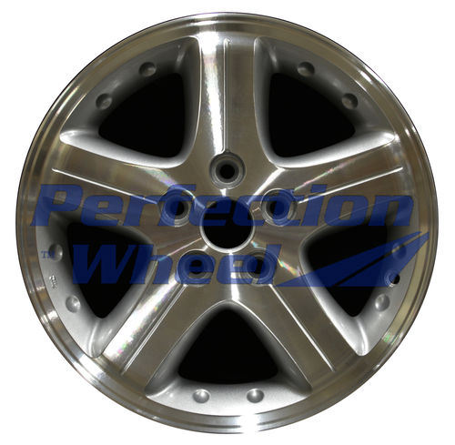 WAO.2172 16x7 Sparkle Silver Machined