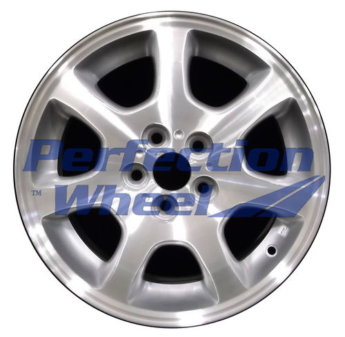 WAO.2181A 15x6 Sparkle Silver Machined