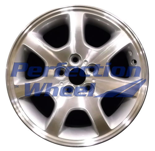 WAO.2181B 15x6 Sparkle Silver Machined
