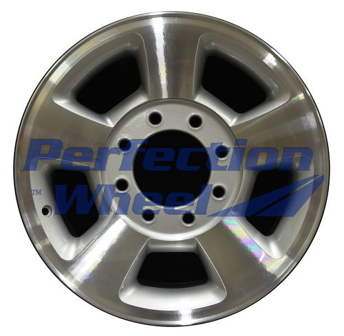 WAO.2187U 17x8 Bright sparkle silver Machined
