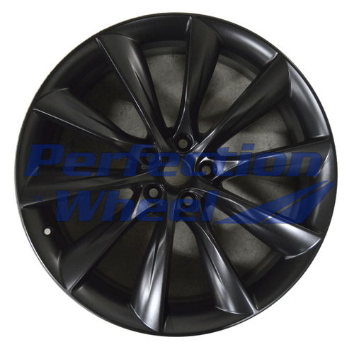 WAO.220015RE 22x10 Flat Matte Black Full Face PIB