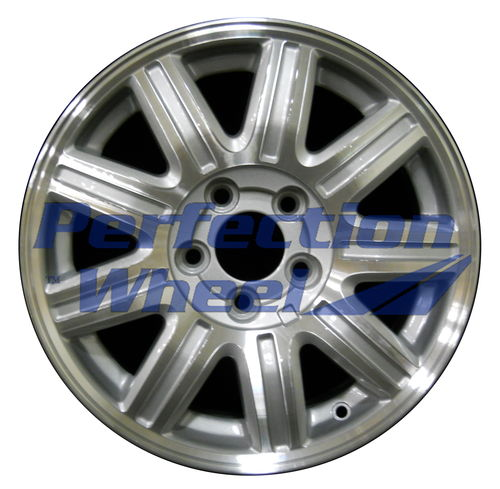 WAO.2211A 16x6.5 Sparkle Silver Machined