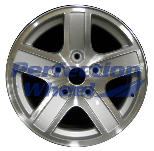 WAO.2212C 17x8 Bright Sparkle Silver Machined