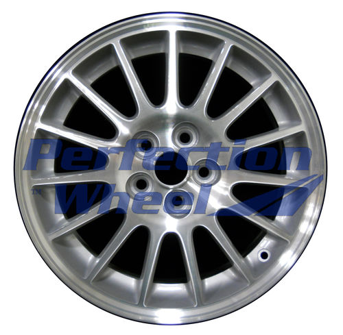 WAO.2228B 16x6.5 Sparkle Silver Machined