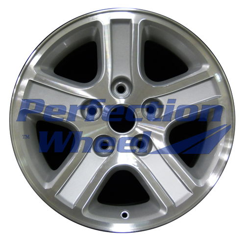 WAO.2265 17x8 Bright Sparkle Silver Machined