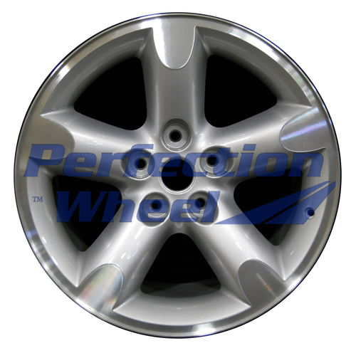 WAO.2267A 20x9 Sparkle Silver Machined